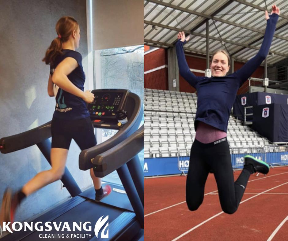 Kongsvang støtter lokalsport, Mathilde